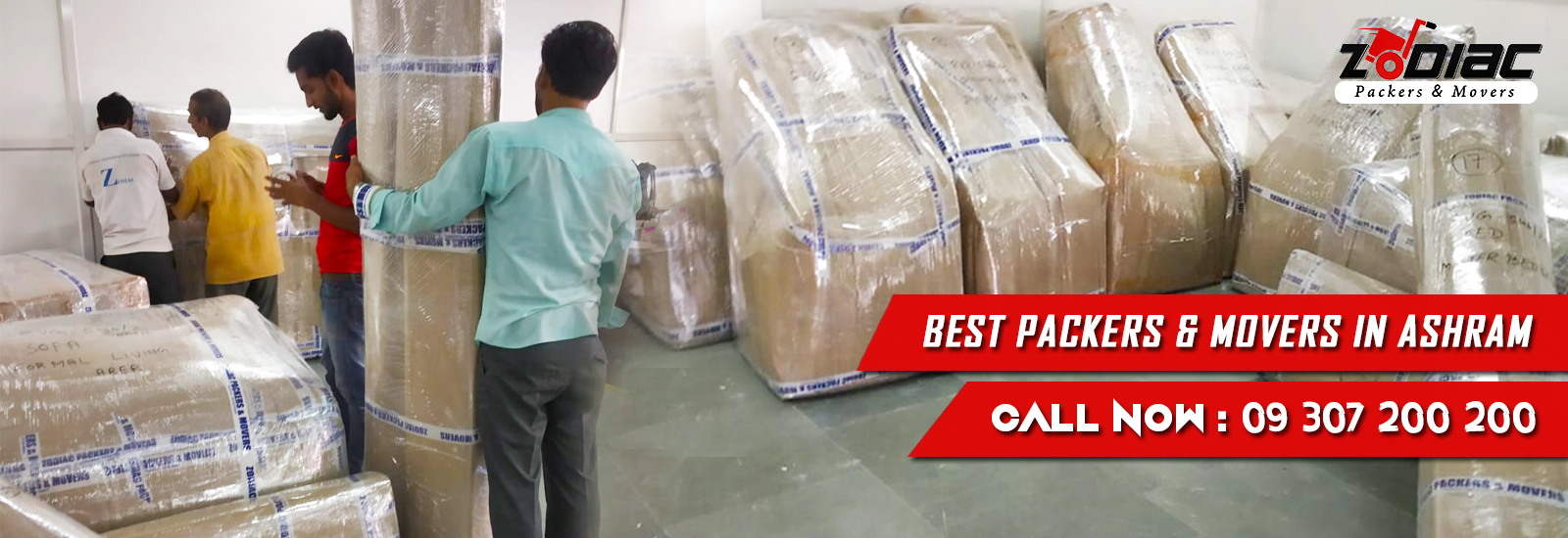 Packers and Movers in Ashram