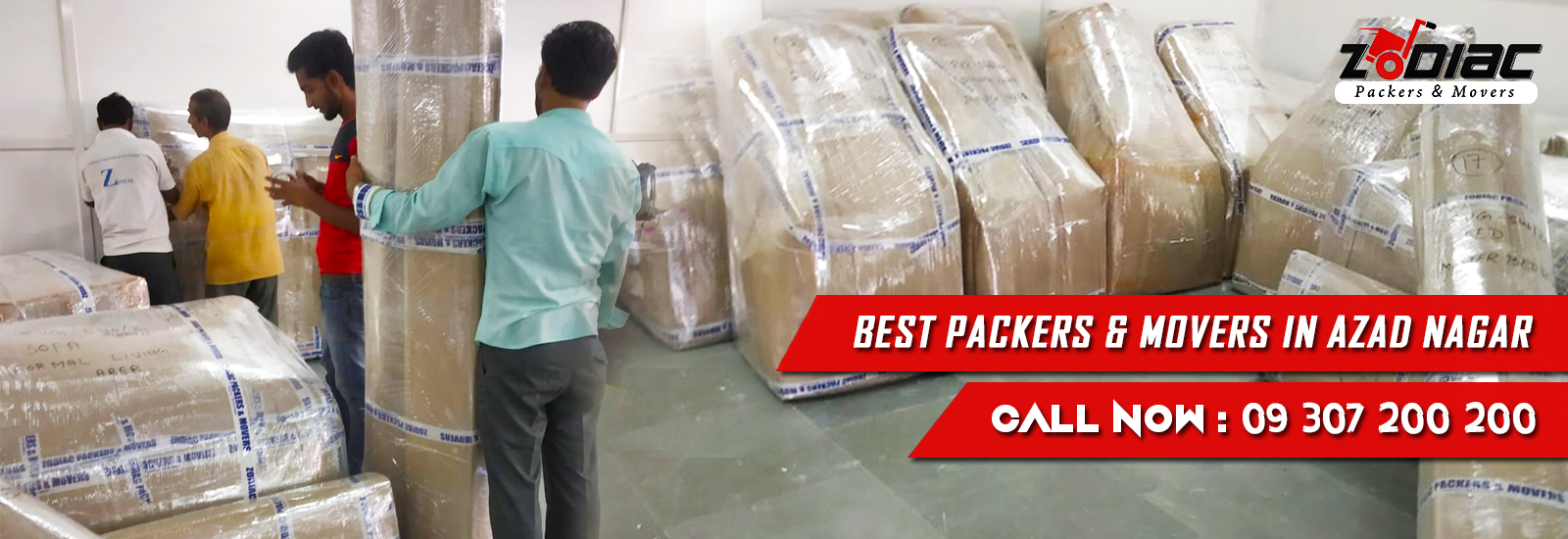 Packers and Movers in Azad Nagar