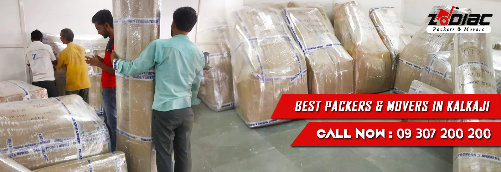 Packers and Movers in Kalkaji