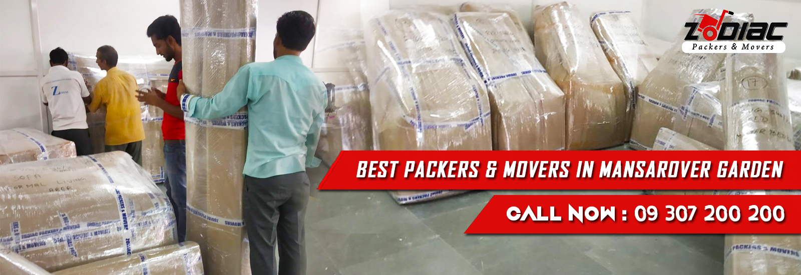 Packers and Movers in Mansarover Garden