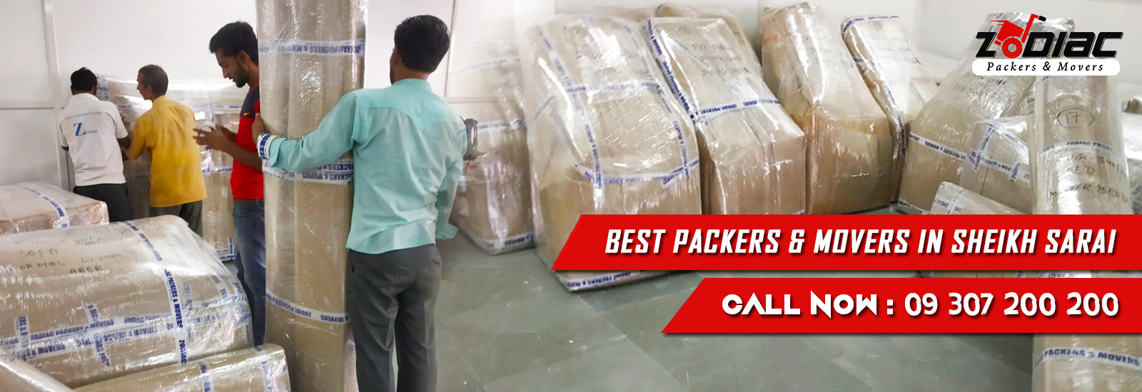 Packers and Movers in Sheikh Sarai