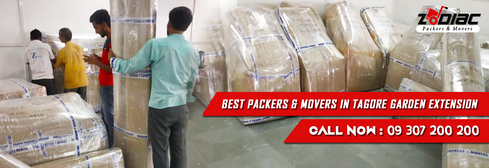 Packers and Movers in Tagore Garden Extension